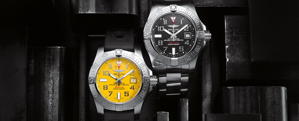 breitling underwater watches